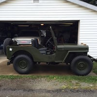 Jeep - willys - 1946 Butler, 16001