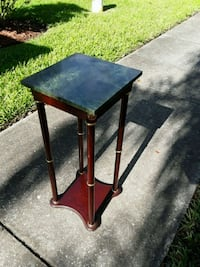 SMALL MARBLE TABLE/PLANTSTAND Bayonet Point, 34667