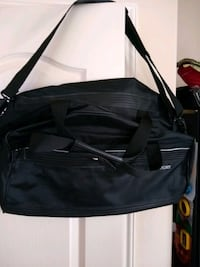 New lg black carry on Delsey luggage duffle