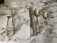 Lenox flatware never used Regularly $75 per set but selling for $40 each five piece setting. Boston, 02203