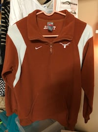 Brown and white nike zip-up jacket Brownsville, 78526