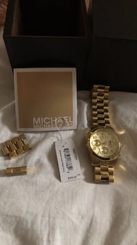 Michael Kors Gold Watch  Mississauga, L5N