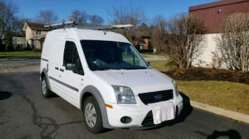 2011 Ford Transit Connect Cargo Van XLT - Rear/No Side Door Glass