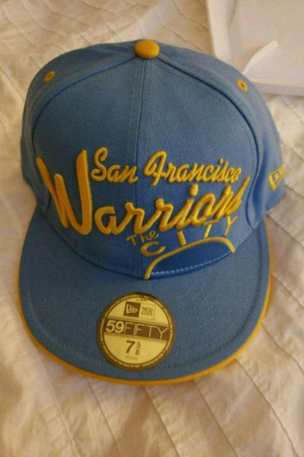 703bf33afe0a8c Used blue and yellow Los Angeles Lakers fitted cap for sale in San Jose