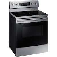 30 inch Samsung stainless steel electric smooth top convection range TORONTO