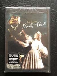 Cocteau's Beauty and the Beast Criterion edition new