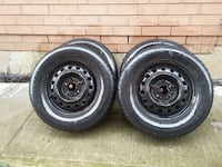 Winter tires on rims 205/65 R15 Newmarket, L3X 1Z5