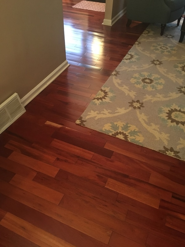 Hardwood Flooring 500 Sq Ft Used 5 16 Thick