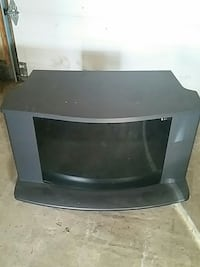 Small wheeled tv stand