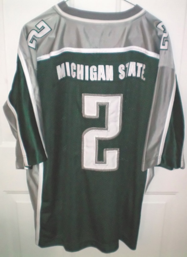 Michigan State Spartans Football #2 NCAA Jersey Size Large by Steve & Barry 14a0ceba-64da-438b-bf9a-ed6a4bf408cd