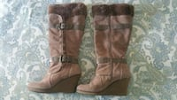 Women's Long Suede Boots Chicago, 60660