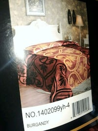 red, brown, and black bedspread pack Moreno Valley, 92551