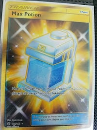 Secret rare max potion Dunbar, 25064