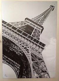 IKEA Eiffel Tower Canvas picture