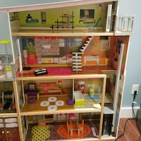 Barbie doll house with elevator  North Potomac, 20878