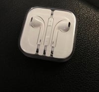 Apple Headphones along with adapter for 7s and up phones Washington, 20007