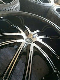 "Black rims 22"" 5x120 Georgetown, 78626"