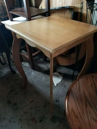 Wooden table pub height  Nashua, 03060