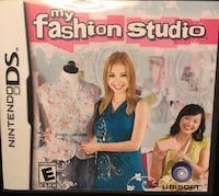 """Fashion Studio"" game for Nintendo DS or 3DS Columbia, 21046"