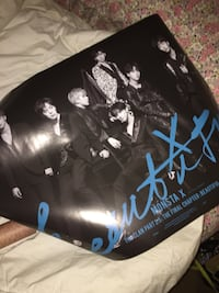Kpop monsta x beautiful poster