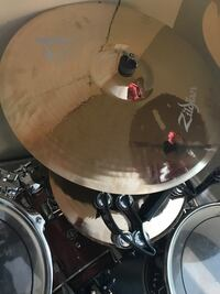 "Zildjian 20th anniversary A custom 21"" ride Boston, 02119"