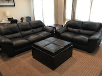 Leather Couch & Loveseat Los Angeles
