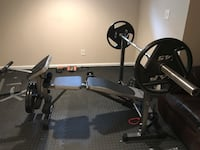 Olympic adjustable weigt bench