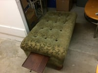Beautiful sitting bench with pull out side trays. Alexandria