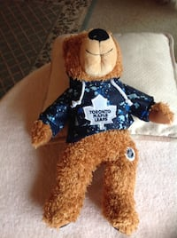 Maple Leaf Bear with Hoodie, really cute. NEW REDUCED PRICE. Now only $5 Oshawa, L1H