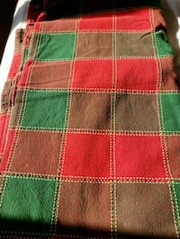 Large holiday table cloth