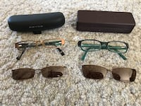 three black and brown sunglasses Melville, S0A 2P0