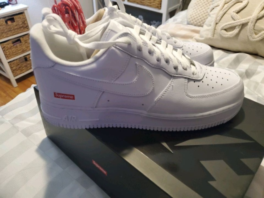 Photo Nike Air Force 1 Supreme 10.5