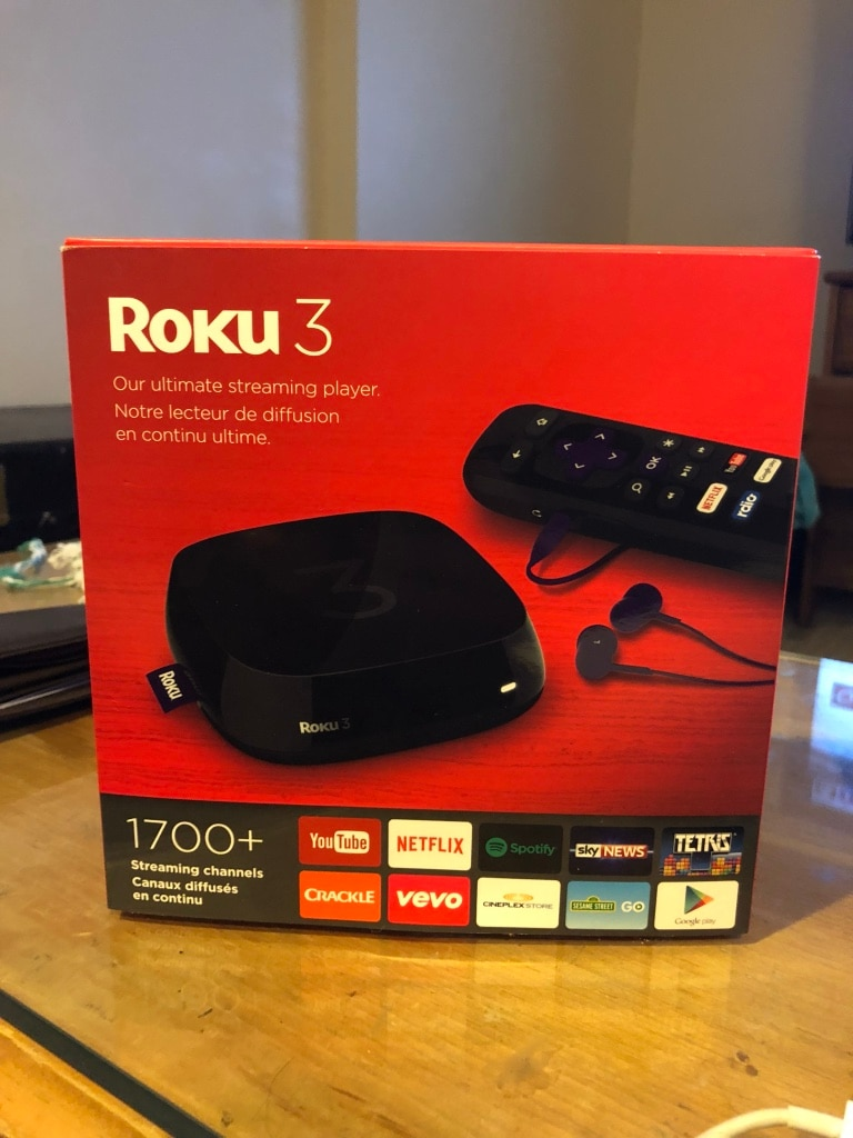 Roku 2 TV box box for sale  Vancouver