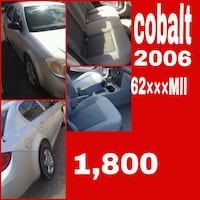 silver Chevrolet Cobalt sedan collage McAllen, 78501