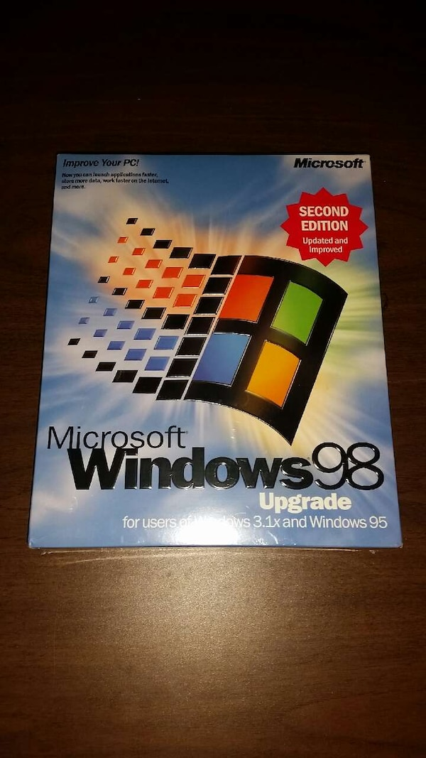 Microsoft Windows 98 2nd edition upgrade
