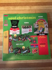 Record Album Vinyl LP Soul Christmas Comp