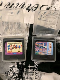 Sega Game Gear games for sale