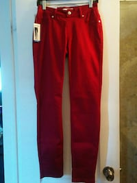 Stretch Red Jeans Vaughan, L6A 3P3
