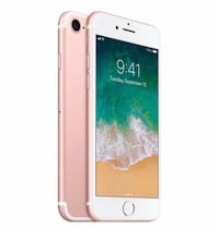 iPhone 7 rose gold - 32gb - unlocked Vancouver, V6B 2W6