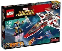 LEGO Super Heroes 76049 Avenjet Space Mission.  Brand new. Only $120!! Laval, H7S 1H7