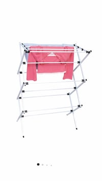 NEW Room Essentials Wide Foldable Drying Rack 27' Space, Up To 40 Lbs Westerville, 43081