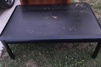 Black solid wood coffee table Richmond Hill