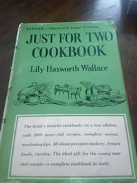Just For Two Cookbook: Lily H. Wallace (1956)