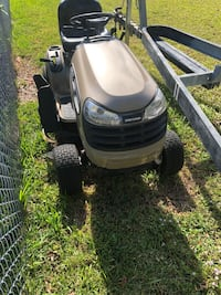 Brown craftsman riding mower Cape Coral, 33990
