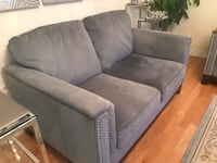 Light blue living set with good condition(smoke and pets free home) Newmarket, L3X 3K9