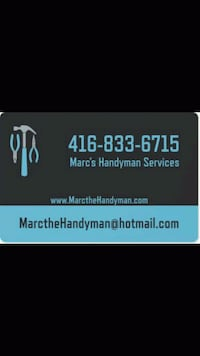 Marc's Handyman Services London