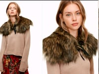 New faux fur collar  Toronto, M2N 7C3