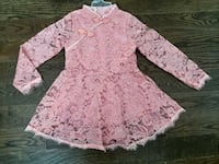 Lace dress for a girl