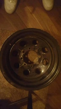 17' Black rims dodge 5 bolt or Chevy 8 bolt Maple Ridge, V2X 4H4