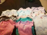 15 onesies perfect condition 3-6months girls